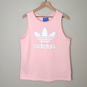 Adidas Trefoil Jersey Style Muscle Tank Top